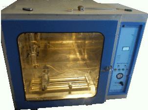 Flammability test apparatus as per UL-94, motorised