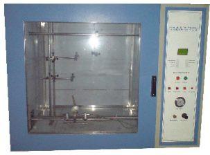 Flammability test as per UL-94 test equipment