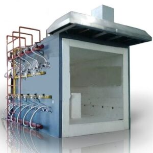 Micro Control Multifunctional Vertical Fire Resistance Test Furnace