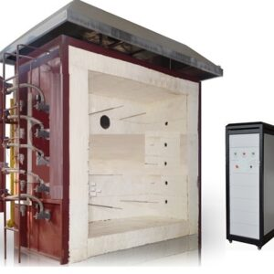 Building Constructions and Materials Vertical Fire Resistance Test Furnace