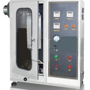 Flame Resistant Treated Paper and Paperboard Testing Machine