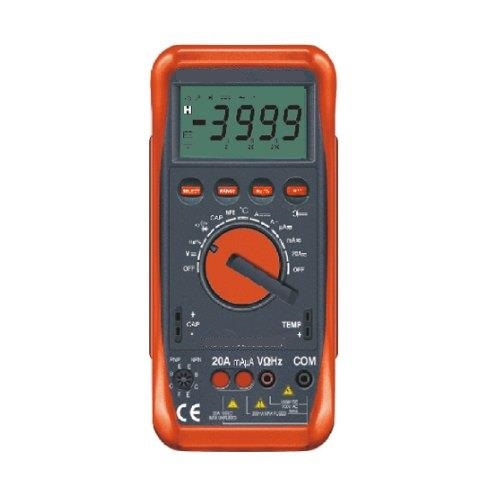 Auto Ranging Digital Multimeter With Terminal Blocking Protection System