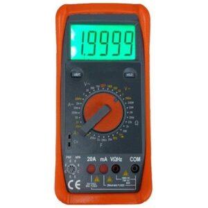 Digital Multimeter With Terminal Blocking Protection